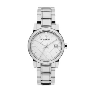 Ladies Authentic Stainless Steel Silver Watch